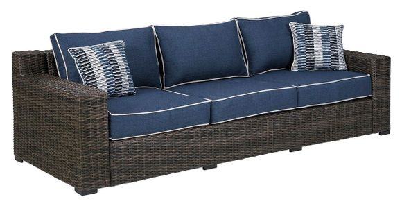 Grasson Outdoor Wicker Sofa