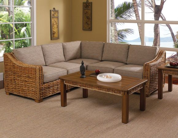 Greenwich Wicker Sectional