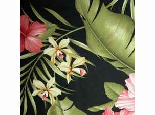 Hamakua Ebony: Indoor Fabric