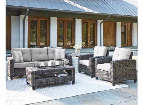 Highland Park Outdoor Wicker Seating-Ships in 2-3 weeks