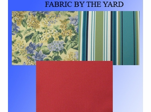 Indoor/Outdoor Fabric by the Yard