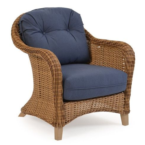 Island Way Outdoor Wicker Chair - Nutmeg Finish