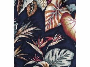 Kabana Black- Indoor Cotton Fabric