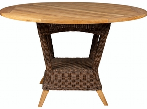 Key West Outdoor Wicker Dining Table