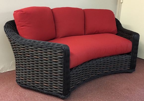 Lake George Outdoor Wicker Curved Sofa 19 Jpg