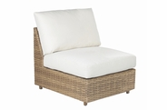 Lane Venture Cambell Outdoor Wicker Sectional Armless Chair