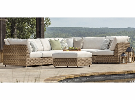 Lane Venture Cambell Outdoor Wicker Sectional Collection