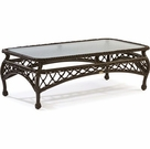 Lane Venture Camino Real Coffee Table-Clear Glass
