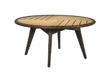 "Lane Venture Cooper Outdoor Wicker 60"" Round Dining Table :USE COUPON CODE LANE FOR 50% OFF"