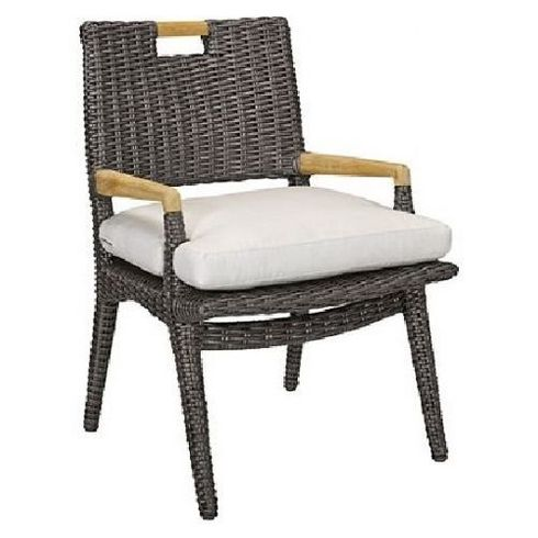 Lane Venture Cooper Outdoor Wicker Dining Arm Chair :USE COUPON CODE LANE FOR 50% OFF