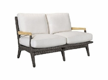 Lane Venture Cooper Outdoor Wicker Loveseat :USE COUPON CODE LANE FOR 50% OFF