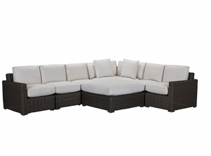 Lane Venture Fillmore Outdoor Wicker Sectional -132 inches-132 inches-USE COUPON CODE LANE FOR 50% OFF