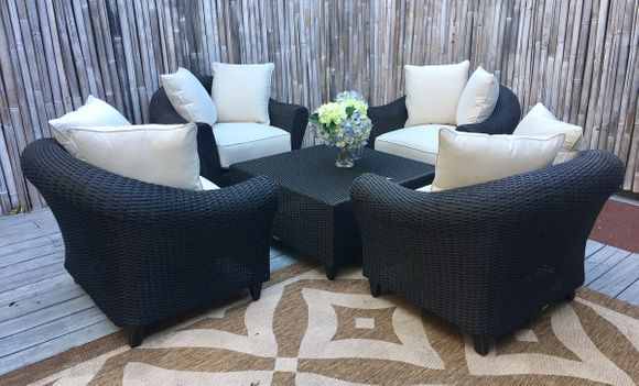Lane Venture La Joya Outdoor Wicker Chat Group
