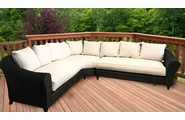 Lane Venture La Joya Outdoor Wicker Sectional