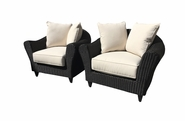 Lane Venture  La Joya Outdoor Wicker Set of 2 Chairs-USE COUPON CODE LANE FOR 50% OFF