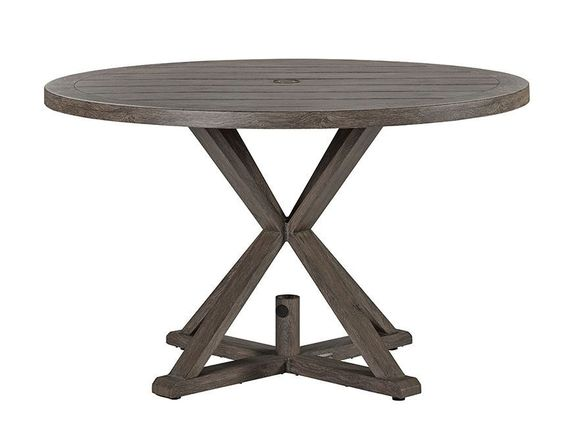 Lane Venture Mystic Harbor 48 Inch Round Dining Table
