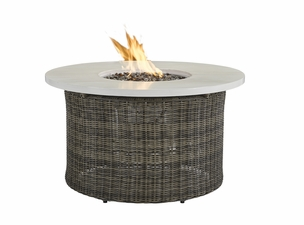 "Lane Venture Oasis 42"" Round Gas Fire Pit"
