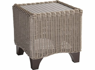 Lane Venture Requisite Wicker Accent Table