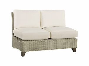 Lane Venture Requisite Wicker Armless Loveseat