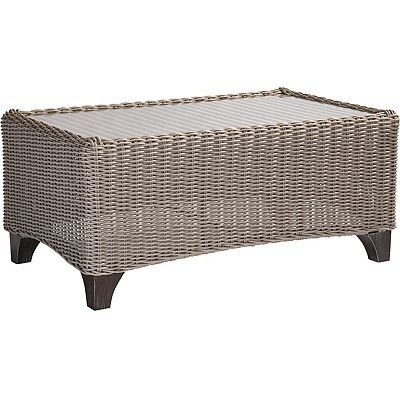 Lane Venture Requisite Wicker Coffee Table
