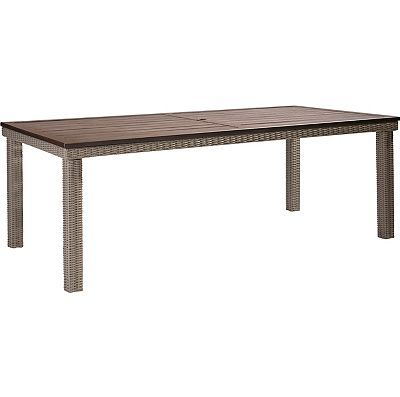Lane Venture Requisite Wicker Rectangular Dining Table