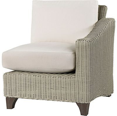 Lane Venture Requisite Wicker Right Facing Arm Chair