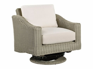 Lane Venture Requisite Wicker Swivel Glider