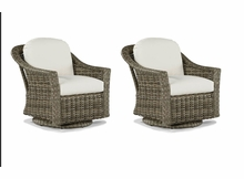 Lane Venture St. Simons Set of 2 Swivel Glider Chairs- USE COUPON CODE LANE FOR 50% OFF ON THIS ITEM ONLY