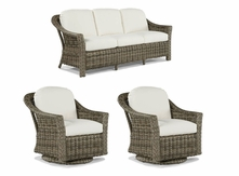 Lane Venture St. Simons Set of 3- Sofa and 2 Swivel Glider Chairs- USE COUPON CODE LANE FOR 50% OFF ON THIS ITEM ONLY