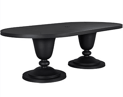Lane Venture Winterthur Estate Oval Double Pedestal Dining Table
