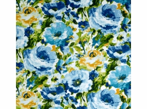 lessandra-sunblue: Indoor/Outdoor Fabric