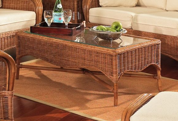 Concord Rattan Coffee Table