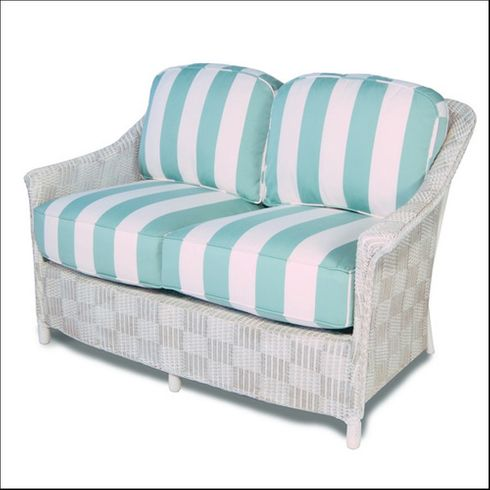 Lloyd Flanders Calypso Loveseat Replacement Cushions