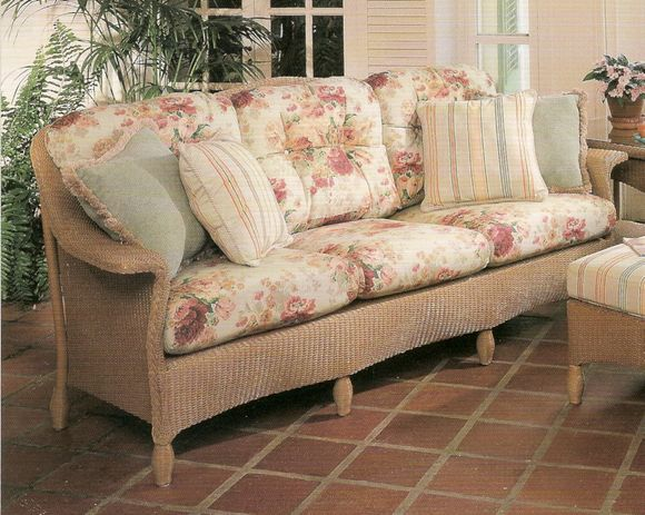 Lloyd Flanders Embassy Sofa Replacement Cushions