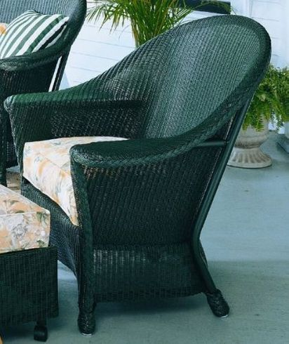 Lloyd Flanders Front Porch Replacement Cushions: Chair Bottom Cushion Only