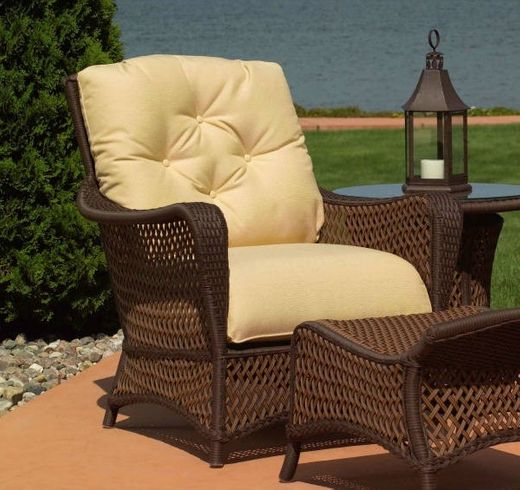 Lloyd Flanders Grand Traverse Chair Replacement  Cushions
