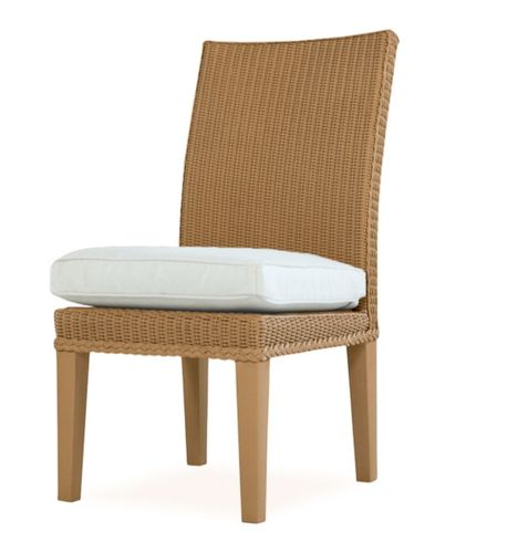 Lloyd Flanders Hamptons Dining Side Chair Replacement Cushion
