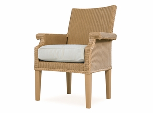 Lloyd Flanders Hamptons Dining Arm Chair Replacement Cushion