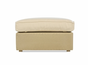 Lloyd Flanders Hamptons Large Ottoman Replacement Cushion