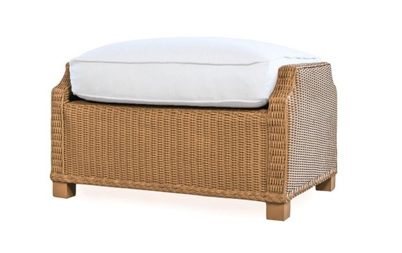 Lloyd Flanders Hamptons Ottoman Replacement Cushion