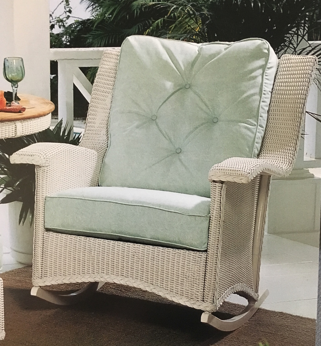 Lloyd Flanders Heritage Chair Replacement Cushions