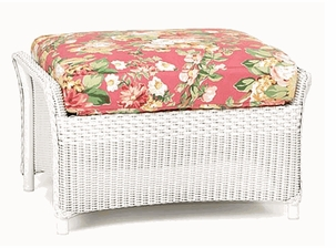 Lloyd Flanders Keepsakes Ottoman Replacement Cushion
