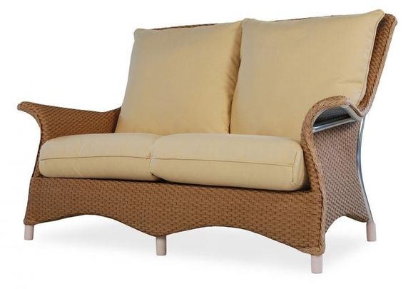 Lloyd Flanders Mandalay Loveseat Replacement Cushions
