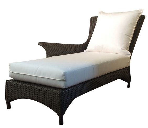 Lloyd Flanders Mandalay Outdoor Wicker Chaise-Only 1 Left!