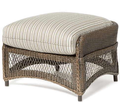 Lloyd Flanders West Bay Ottoman Cushion