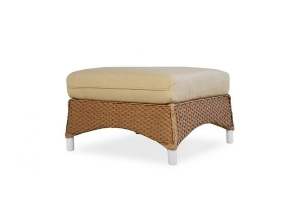 Lloyd Flanders Mandalay Ottoman Cushion