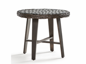Marco Island Outdoor Wicker End Table