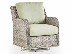 Marco Island Outdoor Wicker Swivel Glider Chair