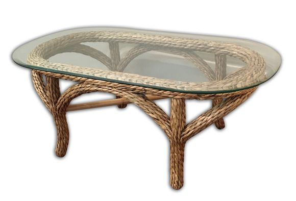 Martinique Seagrass Coffee Table