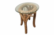 Martinique Seagrass End Table